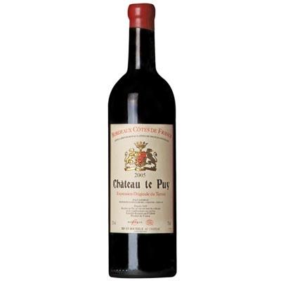 勒庞庄园干红葡萄酒 Chateau Le Puy 750ml(以实际年份为准)