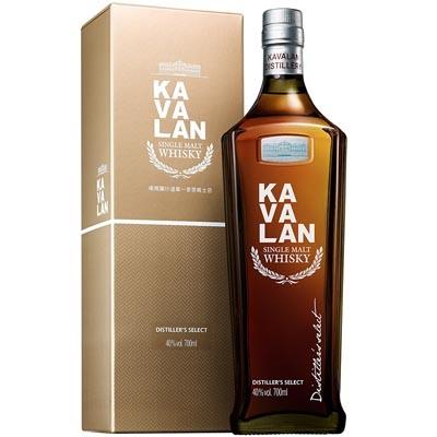 噶玛兰珍选单一麦芽威士忌 Kavalan Distillery Select Single Malt Whisky 700ml