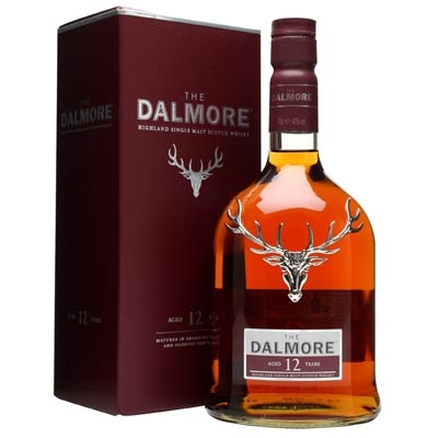 达尔摩12年单一麦芽苏格兰威士忌 The Dalmore Aged 12 Years Highland Single Malt Scotch Whisky 700ml