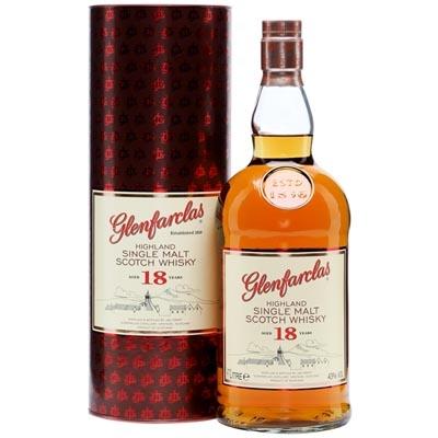 格兰花格18年单一麦芽苏格兰威士忌 Glenfarclas Aged 18 Years Highland Single Malt Scotch Whisky 1000ml