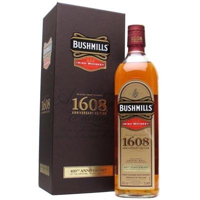布什米尔斯1608百年纪念调和爱尔兰威士忌 Bushmills 1608 400th Anniversary Blended Irish Whiskey 700ml