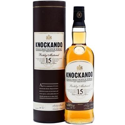 洛坎多15年单一麦芽苏格兰威士忌 Knockando Aged 15 Years Single Malt Scotch Whisky 700ml