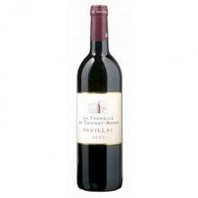 歌碧庄园副牌干红葡萄酒 La Tourelle De Croizet Bages 750ml