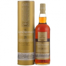 格兰多纳21年百乐门雪莉桶单一麦芽苏格兰威士忌 Glendronach Aged 21 Years Parliament Highland Single Malt Scotch Whisky 700ml