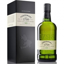 托巴莫利10年单一麦芽苏格兰威士忌 Tobermory Aged 10 Years Single Malt Scotch Whisky 700ml