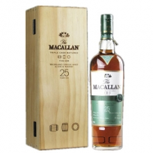 麦卡伦25年黄金三桶单一麦芽苏格兰威士忌 Macallan 25YO Fine Oak Triple Cask Matured Highland Single Malt Scotch Whisky 700ml