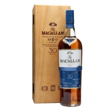 麦卡伦30年黄金三桶单一麦芽苏格兰威士忌 Macallan 30YO Fine Oak Triple Cask Matured Highland Single Malt Scotch Whisky 700ml