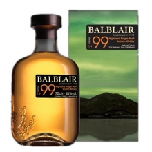 巴布莱尔1999年第二版单一麦芽苏格兰威士忌 Balblair Vintage 1999 2nd Release Highland Single Malt Scotch Whisky 700ml