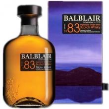 巴布莱尔1983年第一版单一麦芽苏格兰威士忌 Balblair Vintage 1983 1st Release Highland Single Malt Scotch Whisky 700ml