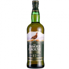 威雀12年混合麦芽苏格兰威士忌 The Famous Grouse Aged 12 Years Blended Malt Scotch Whisky 700ml