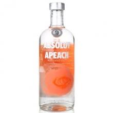 绝对蜜桃味伏特加 Absolut Apeach Vodka 750ml