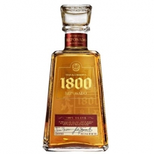 豪帅1800典藏金龙舌兰酒 Jose Cuervo 1800 Reposado Tequila 750ml