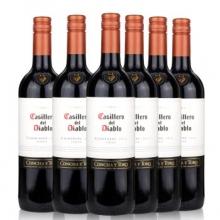 干露酒庄红魔鬼卡麦妮干红葡萄酒 Casillero del Diablo Carmenere 750ml