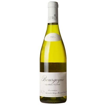 勒桦酒庄勃垦第干白葡萄酒 Domaine Leroy Bourgogne Blanc 750ml