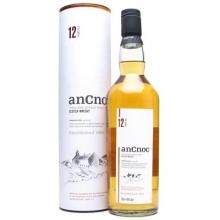 安努克12年单一麦芽苏格兰威士忌 AnCnoc 12 Years Old Highland Single Malt Scotch Whisky 700ml