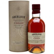 雅伯莱雪莉桶原酒单一麦芽苏格兰威士忌 Aberlour A'Bunadh Highland Single Malt Scotch Whisky 700ml(新旧包装随机发货)