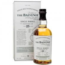 百富25年单桶单一麦芽苏格兰威士忌 The Balvenie 25YO Single Barrel Traditional Oak Single Malt Scotch Whisky 700ml