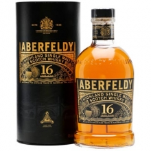 艾柏迪16年单一麦芽苏格兰威士忌 Aberfeldy Aged 16 Years Single Highland Malt Scotch Whisky 700ml