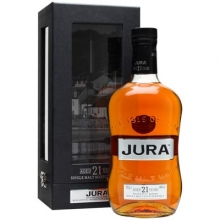 朱拉小岛21年单一麦芽苏格兰威士忌 Isle of Jura Aged 21 Years Single Malt Scotch Whisky 700ml