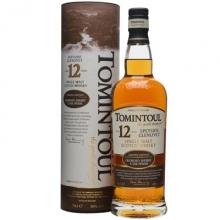 托明多尔12年雪莉桶单一麦芽苏格兰威士忌 Tomintoul Aged 12 Years Sherry Cask Speyside Glenlivet Single Malt Scotch Whisky 700ml