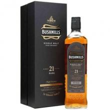 布什米尔斯21年单一麦芽爱尔兰威士忌 Bushmills Aged 21 Ysars Single Malt  Irish Whiskey 700ml