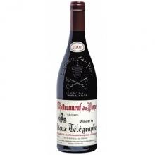 老电报酒庄教皇新堡干红葡萄酒 Domaine du Vieux Telegraphe Chateauneuf-du-Pape La Crau 750ml