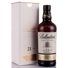 百龄坛21年调和苏格兰威士忌 Ballantine's Aged 21 Years Blended Scotch Whisky 700ml