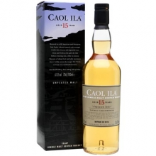 卡尔里拉15年无泥煤原酒单一麦芽苏格兰威士忌 Caol Ila Unpeated Style Natural Cask Strength 15 Year Old Single Malt Scotch Whisky 700ml