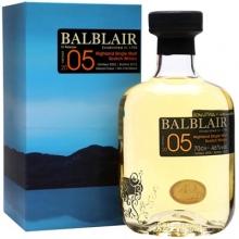 【限时特惠】巴布莱尔2005年第一版单一麦芽苏格兰威士忌 Balblair Vintage 2005 1st Release Highland Single Malt Scotch Whisky 700ml