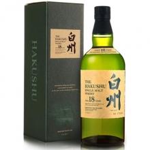 白州18年单一麦芽威士忌 The Hakushu Aged 18 Years Single Malt Whisky 700ml