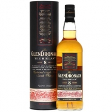 格兰多纳8年单一麦芽苏格兰威士忌 Glendronach Aged 8 Years The Hielan Highland Single Malt Scotch Whisky 700ml