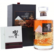 三得利响21年花鸟风月限量版日本调和威士忌 Suntory Hibiki 21 Year Old Kacho Fugetsu Limited Edition Japanese Blended Whisky 700ml
