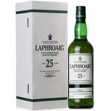 拉弗格25年单一麦芽苏格兰威士忌 Laphroaig Aged 25 Years Cask Strength Islay Single Malt Scotch Whisky 700ml