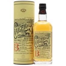 克莱嘉赫13年单一麦芽苏格兰威士忌 Craigellache Aged 13 Years Speyside Single Malt Scotch Whisky 700ml
