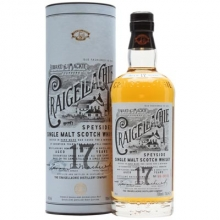 克莱嘉赫17年单一麦芽苏格兰威士忌 Craigellache Aged 17 Years Speyside Single Malt Scotch Whisky 700ml