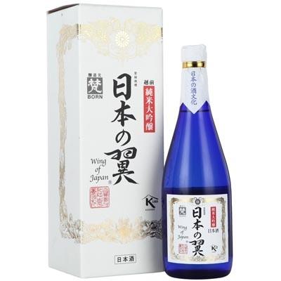 梵·日本之翼纯米大吟酿清酒 Born Wing of Japan Junmai Daiginjo Sake 720ml