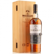 麦卡伦21年黄金三桶单一麦芽苏格兰威士忌 Macallan 21YO Fine Oak Triple Cask Matured Highland Single Malt Scotch Whisky 700ml