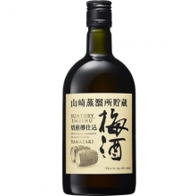 三得利山崎蒸馏所贮藏焙煎樽仕込梅酒 660ml