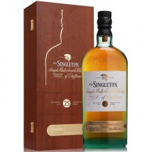 【限时特惠】苏格登达夫镇25年单一麦芽苏格兰威士忌 The Singleton of Dufftown 25 Year Old Single Malt Scotch Whisky 700ml