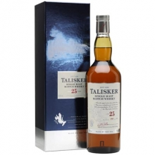 泰斯卡25年单一麦芽苏格兰威士忌 Talisker Aged 25 Years Single Malt Scotch Whisky 700ml