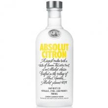 绝对柠檬味伏特加 Absolut Citron Vodka 750ml