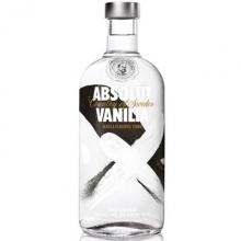 绝对香草味伏特加 Absolut Vanilia Vodka 750ml