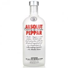 绝对辣椒味伏特加 Absolut Peppar Vodka 750ml