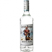 摩根船长白朗姆酒 Captain Morgan White Rum 700ml
