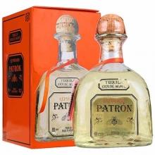 培恩金樽龙舌兰酒 Patron Tequila Reposado 750ml