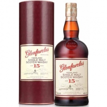 【限时特惠】格兰花格15年单一麦芽苏格兰威士忌 Glenfarclas Aged 15 Years Highland Single Malt Scotch Whisky 700ml