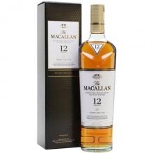 麦卡伦12年雪莉桶单一麦芽苏格兰威士忌 Macallan 12YO Sherry Oak Highland Single Malt Scotch Whisky 700ml