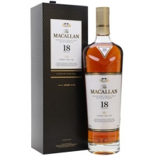 麦卡伦18年雪莉桶单一麦芽苏格兰威士忌 Macallan 18YO Sherry Oak Highland Single Malt Scotch Whisky 700ml