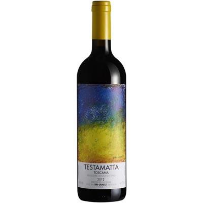比比格拉兹酒庄特斯塔玛塔干红葡萄酒 Bibi Graetz Testamatta Toscana IGT 750ml