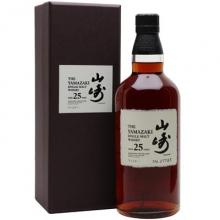 山崎25年单一麦芽威士忌 The Yamazaki Aged 25 Years Single Malt Whisky 700ml